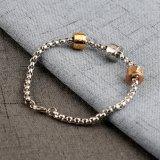 De in het groot Nieuwe Roestvrij staal Geparelde Juwelen Gegraveerde Armband van 2017