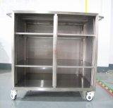 China Instrumentos médicos do Hospital de Aço Inoxidável Armário à beira do leito
