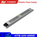 24V 20A 480W ultradünne Stromversorgung für das Bekanntmachen des hellen Kastens