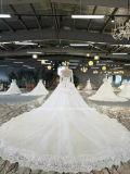 花嫁Aoliweiyaライン袖のレースのウェディングドレス