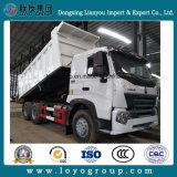 Sinotruk HOWO A7 6*4 371HP 덤프 트럭과 팁 주는 사람 트럭
