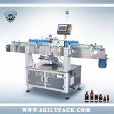 Botella de plástico redonda Etiquetado automático de la máquina para el aceite esencial
