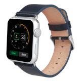 Apple Iwatch 보충 악대를 위한 진짜 가죽 시계 결박