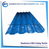 Panneau de toiture de tuiles de métal Making Machine avec hydraulique Timbre de perforation