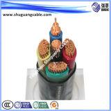 Anti-Explosion пламя - кабель компьютера retardant обшитый Teflon/PVC