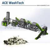 Plastic HDPE Fles die de Wasmachine van de Fles recycleren Machine/HDPE