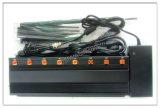 Multifuncional potente ajustável 3G 4G Bloqueador de telefone e WiFi GPS Lojack Jammer