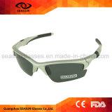 Vidros pretos de Polarzied UV400 Sun da alta qualidade que dão um ciclo óculos de proteção da bicicleta de Sunglass dos esportes