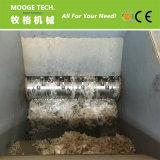 Grand tambour/la benne/de balles de film plastique de l'arbre unique shredder