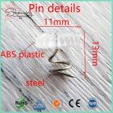 Pin principal clair en plastique de capitonnage de torsion de 13mm