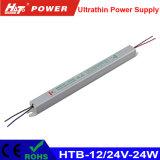 18W에서 480W Ultrathin LED 전력 공급 Htb 시리즈에 12/24V