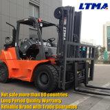 7 toneladas LPG/Gasoline Dual Forklift do combustível com motor do GM