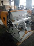 Lâmina de controlo do programa e máquina Die-Cutting Estampagem