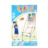 Стойки баскетбола всхода игрушки спорта и игра обруча установили для детей