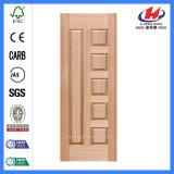 Отлитая в форму кожа двери Veneer HDF/MDF Sapele (JHK-010)