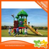 Corrediça plástica do mini equipamento ao ar livre do parque de diversões para crianças