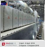 El techo superior de la tarjeta de yeso de la marca de fábrica embaldosa la cadena de producción de equipo