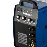 Machine de soudure d'inverseur de MIG-250ai MIG magnétique + E-Main IGBT 250AMP 110V