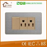 China tomada com interruptor eléctrico de fábrica