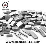 Herramientas de diamante piedra de granito del segmento de corte