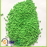 Granelli della plastica dell'HDPE del Virgin di Masterbatch di colore verde