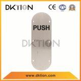 Pannello indicatore ovale di indicazione di spinta DS013 per il portello