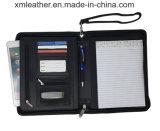 PU кожаный портфель решений для бизнеса на молнии папки органайзера