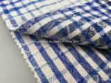 Flanella tinta Fabric-Lz7770 del jacquard del filo di cotone