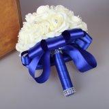 Venda por grosso de moda de casamento de flores artificiais artesanais Suite Bouquet