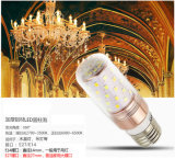 Luz cambiante del color del maíz E27 8W del bulbo del color del LED