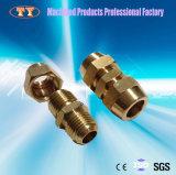 Laiton de précision d'usinage CNC connecteur rapide du raccord de tuyau du raccord de tube