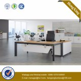 L bureau en bois de directeur de forme (UL-NM084)