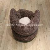 Assestamento caldo del sofà del gatto della base del cane della peluche del sofà dei prodotti dell'animale domestico