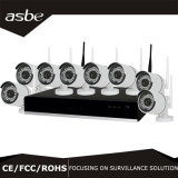 kit senza fili del sistema NVR della macchina fotografica del CCTV del IP di 720p/960p/1080P HD 4CH/8CH WiFi