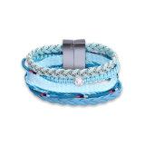 Handgemachte Baumwolseil-Armbandknit-Frauen-Schmucksachen