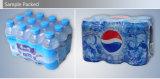 Botellas automáticas con la empaquetadora del encogimiento de la película impresa