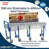 Transportador de rodillo flexible del transportador de la rueda del patín/transportador extensible (YL-1500)