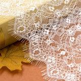 Оптовая продажа ткани шнурка цвета тканья 2 Allover связанная