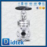 Válvula de globo del fabricante CF8m de Didtek con el volante de dirección