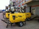 Металлогалогенные телескопической Вертикальная автоматическая лампа гидравлической системы в корпусе Tower Truck-Mounted осветительная мачта машины Silent генератора