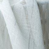 Jacquard de lino tejido de gasa pura cortina de tela (18F0102)