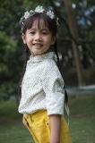봄 가을 동안 Phoebee 형식 면 소녀 옷