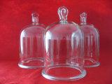 ハンドルが付いている高品質によって鐘カスタマイズされるガラスカバー
