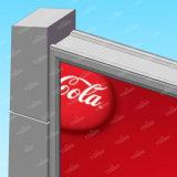 Double côté rétroéclairé panneaux extérieurs de la structure en acier de la publicité