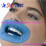 Blu sterile apri di bocca del retrattore della guancica della diga di gomma dentale o bianco a gettare