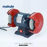 Верстачный шлифовальный станок електричюеского инструмента 370W Makute 150mm электрический точильщика угла
