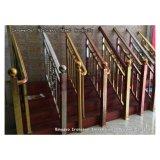 304 tubi ornamentali del corrimano dell'acciaio inossidabile