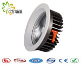 2018 High Power LED 30W de luz hacia abajo la COB, IP44 Driver Lifud Downlight LED