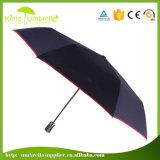 Зонтик перемещения Semi автоматической складчатости миниый на день дождя