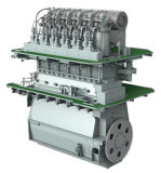 De Dieselmotor van Mitsubishi